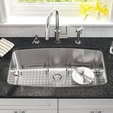 kitchen 36 undermount kitchen sink one basin sink 16