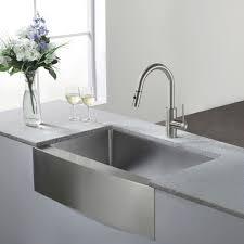 modern sinks kitchen kraus 30 inch farmhouse single bowl stainless steel kitchen sink