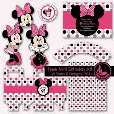 minnie mouse party ideas free printables holidappy
