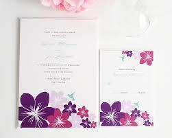 32 tropical flower wedding invitations vizio wedding