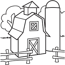 barn free farm animals coloring pages print color