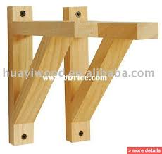 Wall Brackets For Shelving by Wood Shelf Support Brackets Wooden Floating Shelf Wood Wall Shelf