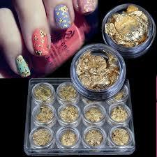 Nail Decorations 2015 New Supernova Sale Diy 3d Nail Art Decorations Gold Foil For