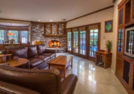 Livingroom Fireplace Interesting Cozy Modern Living Room With Fireplace A Golden Valley
