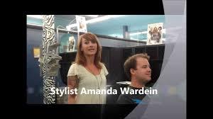 amanda men u0027s haircut youtube