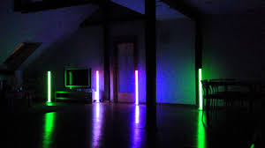 american dj led lights american dj colour led tube test youtube