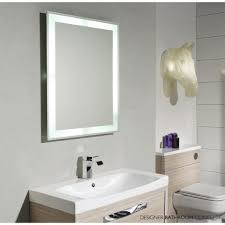 Lit Bathroom Mirror Bathrooms Design Lighted Wall Mirror Bathroom Lit Mirrors New