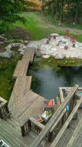 Backyard Swimming Ponds by Natural Swimming Pond Construction Lake U0026 Pond Conversion To