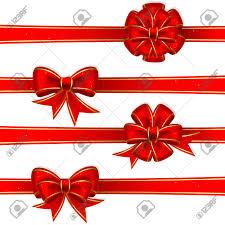 christmas ribbons and bows set from christmas bows royalty free cliparts vectors and
