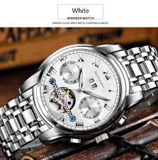 2017 luxury mechanical watch tourbillon designer watches sapphire