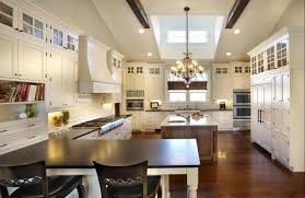 Kitchen Backsplash Ideas With Black Granite Countertops Creamy Marble Countertop Island Table Black Granite Countertops