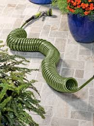 coil hose 50 ft long coiled garden hose gardeners com