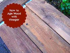 How To Age Wood With Paint And Stain Simply Swider by How To Create A Vintage Signe Aging Wood Woods And Board