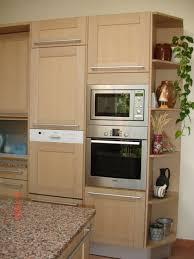 cuisine en chene blanchi cuisine meuble cuisine chene blanchi conception de maison peindre