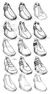 industrial design sketches shoes speed instinct by ghost works
