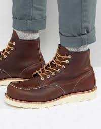 red wing boots black friday wednesday specials red wing 6 inch moc toe leather boots black