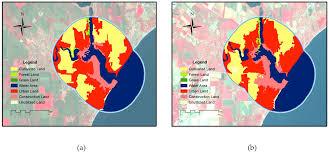 monitoring the coastal environment using remote sensing and gis