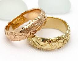 Hawaiian Wedding Rings by Hawaiian Jewelry Rings U2013 Aolani Hawaii