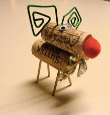 make it easy crafts wine cork christmas reindeer