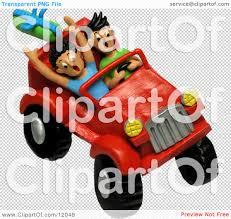 beach jeep clipart clay sculpture clipart teenagers four wheeling in a jeep royalty