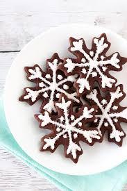 gluten free vegan chocolate snowflake sugar cookies sarah bakes