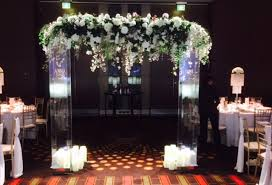 wedding arches perth clear perspex arbour wedstyle weddings events styling planning