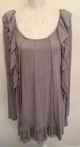myrine and me myrine me grey knit top autumn size xs nwt ebay
