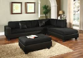 furniture sofas amazing curved sofa black microfiber couch suede