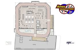 Fitness Center Floor Plans Ames Racquet And Fitness Center Releases Renderings Isu Research