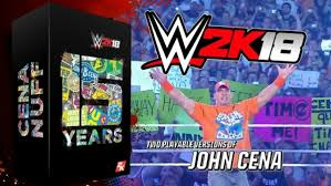 wwe 2k18 cena nuff edition and basic deluxe edition wwe wwe 2k18