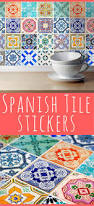 best 25 spanish tile kitchen ideas on pinterest moroccan tile traditional spanish tiles stickers tiles decals tiles for kitchen backsplash or bathroom bathroom
