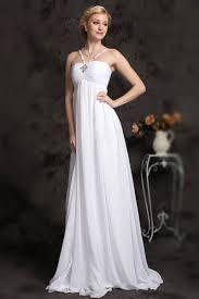 robe de mari e l gante robe de mariée élégante pour femme enceinte en mousseline bustier