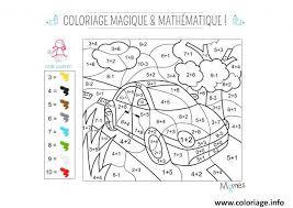 coloriage magique dessin à imprimer gratuit