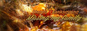 happy thanksgiving missing my family cover happy