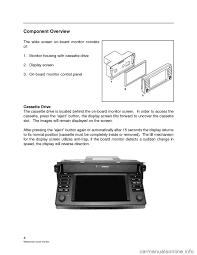 bmw x5 2001 e53 wide screen on board monitor workshop manual