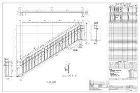Handrail Construction Detail M Sac Sample Drawings