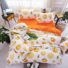 Orange Comforter Online Get Cheap Orange Queen Comforter Sets Aliexpress Com