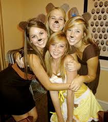 Halloween Costumes Girls Age 16 Cute Group Halloween Costumes Goldilocks Bears