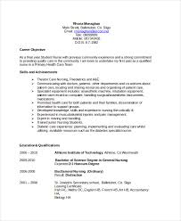 exle of resume for nurses career objective for nursing resume resume objective well