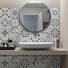 credence autocollant cuisine carrelage autocollant sticker adhésif carrelage salle de bain et