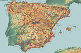 Marbella Spain Map by Country Maps Spain