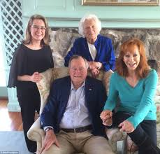 george h w bush date of birth barbara bush turns 90 with family reunion at maine compound