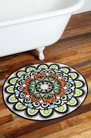 mandalas can be found in many forms like this great rug for wood