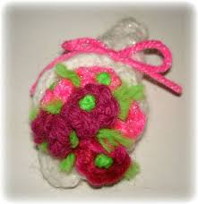 Tiny Flower Crochet Pattern - knit a tiny flower pin bouquet for mothers u0027 day 9 steps with