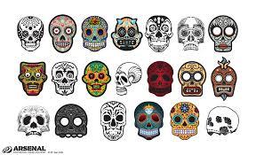 adobe illustrator skull sugar skull