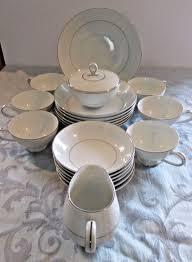 mikasa china bridal veil set of dishes a5559 ebay