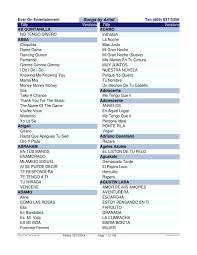 catálogo musical ipodmusica 2 de 4 ordenado por artista de la