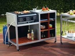 meuble cuisine exterieure meuble de cuisine exterieur barbecue gaz inox grand meuble cuisine