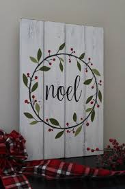 best 25 painted wooden signs ideas on pinterest personalized noel sign christmas sign hand painted wood sign christmas wreath rustic home decor mantle decor distressed wood christmas gift