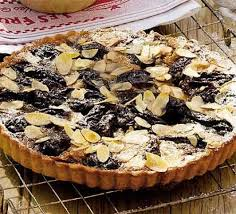 cuisine prune prune nut tart recipe food